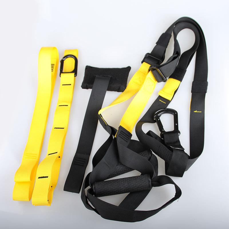 רצועות אימון לעיצוב הגוף דגם PRO 2017 צהוב/ ירוק/ ורוד