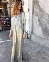 שמלת פאולה זהב