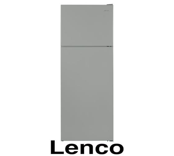 מקרר מקפיא עליון LENCO דגם LNF473V-IXMDR