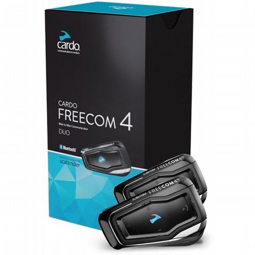 דיבורית לקסדה Cardo Scala Rider Freecom 4 Duo - ערכה זוגית