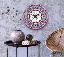 שעון קיר מעוצב, זכוכית אקרילית, דגם 2024  TIVA DESIGN