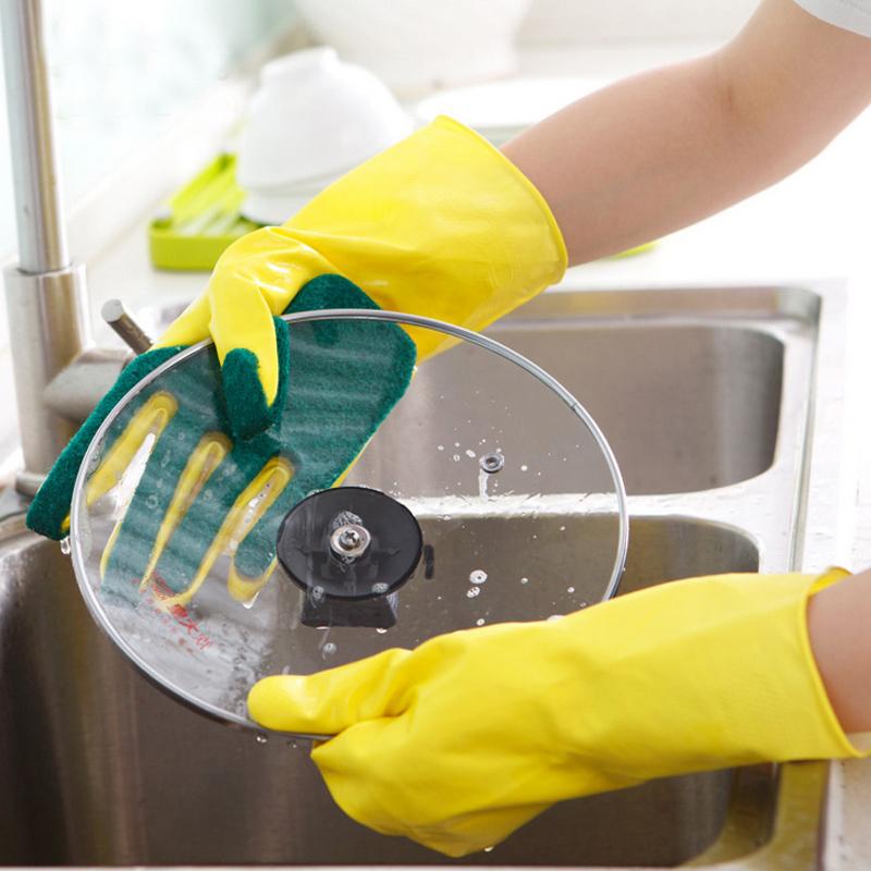 זוג כפפות משולבות סקוצ לשטיפת כלים
