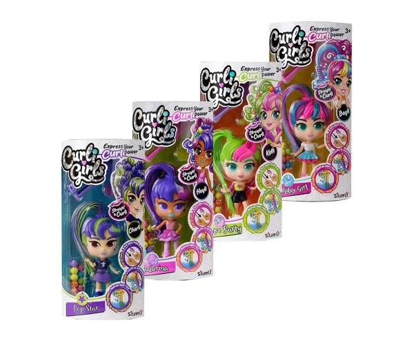 curli girls בצבעים