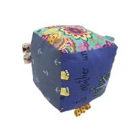 מתנה לתינוק: קוביית בד גדולה, דגם שרון