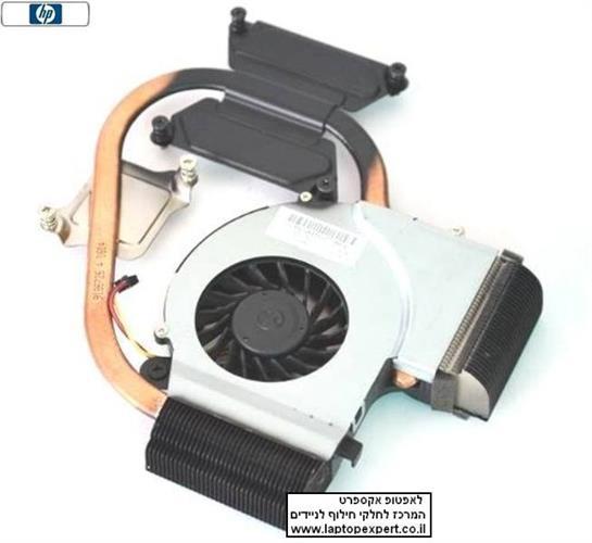 מאוורר למחשב נייד HP Laptop DV5-2000 Heat Sink CPU FAN 606889-001 6043B0078201 KSB05105HA