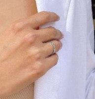 טבעת Bunny כסף