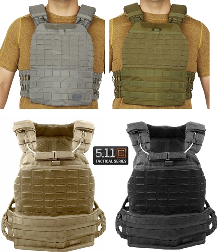 ווסט טקטי מודולרי מדגם TACTEC PLATE CARRIER 5.11 56100 לפלטות בליסטיות