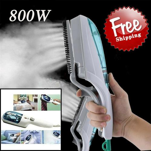 New Portable Travel Handheld Iron Clothes Steamer Garment Steam Brush Hand Held