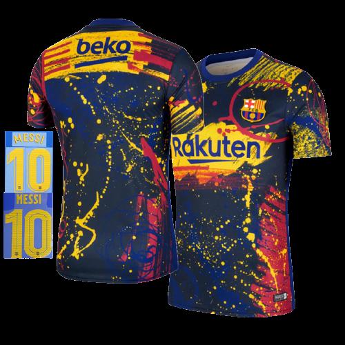 חולצת אימונים ילדים ברצלונה בית 20-21