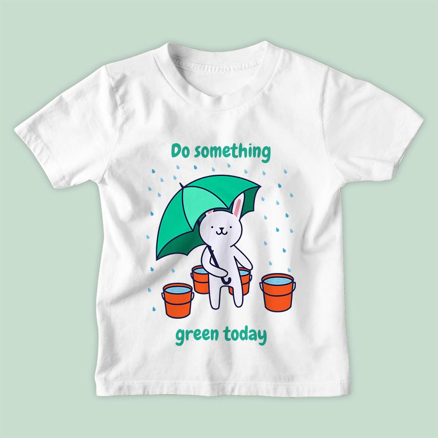 חולצת ילדים Do Something Green Today