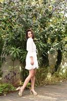 שמלת  לבנה