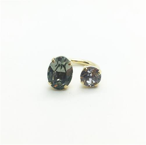 טבעת דונה חדשה זהב