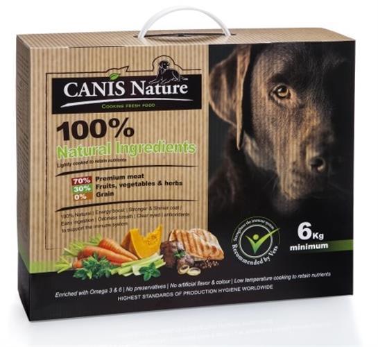 "CANIS Nature קאניס נייצ'ר מזון טבעי לכלבים 6 ק""ג"