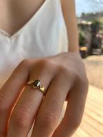טבעת אליזבת זהב 14 קראט