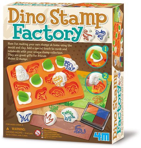 ערכת יצירה - ייצור חותמות דינוזאורים 4M
