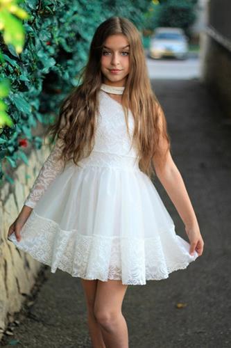שמלת טוטו שושבינה/ בת מצווש