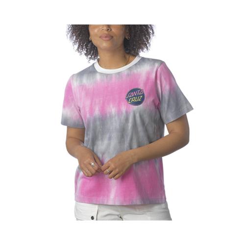 SANTA CRUZ Contra Dot Fade T Shirt