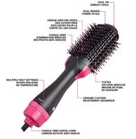 מחליק השיער המתקדם 2 ב-1 לעיצוב מושלם של השיער