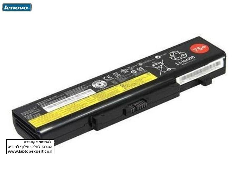 סוללה למחשב נייד לנובו מקורית 6 תאים Lenovo IdeaPad B480 B485 B490 B580 B585 B590  Battery L11L6Y01 L11M6Y01