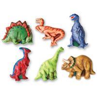 יציקות גבס - דינוזאורים זוהרים בחושך
