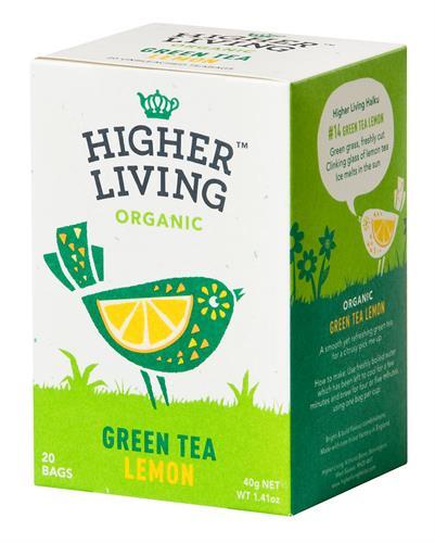 תה ירוק לימון