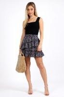 חצאית אשלי שחורה
