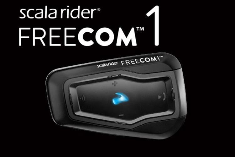 מערכת תקשורת לקסדה scala rider FREECOM 1