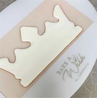 תבנית ליצירת כתר מלך ליאל משוקולד או מבצק סוכר | תבנית ליאל | כתר ליאל לבנים
