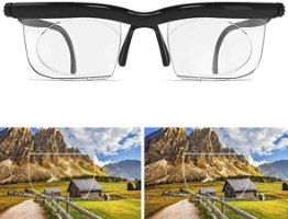 זוג משקפיים אוניברסליים מתכווננים