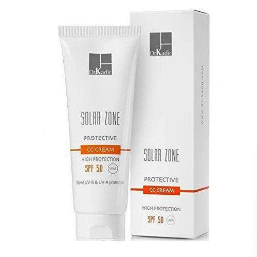 דר' כדיר סולאר זון קרם לחות CC עם הגנה Dr. Kadir Solar Zone Protective CC Cream SPF50