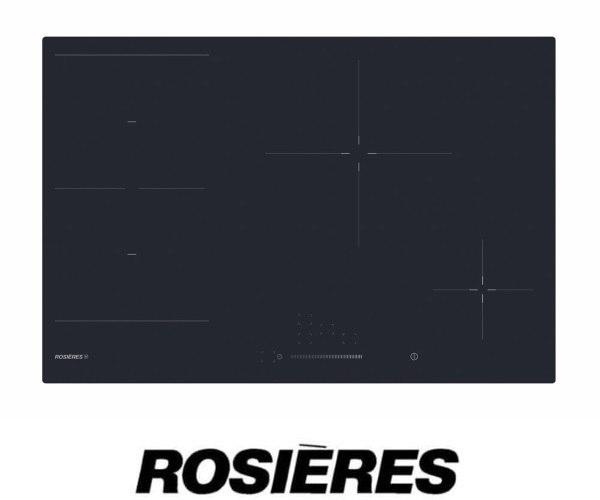 "ROSIERES כיריים אינדוקציה תלת פאזי 77 ס""מ דגם RIES844SC"
