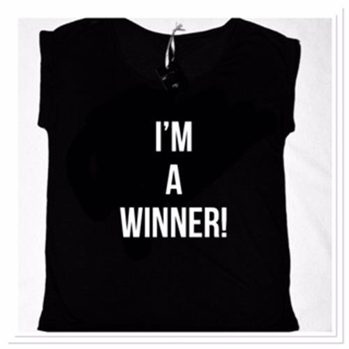 חולצות העצמה  I AM A WINNER 2018