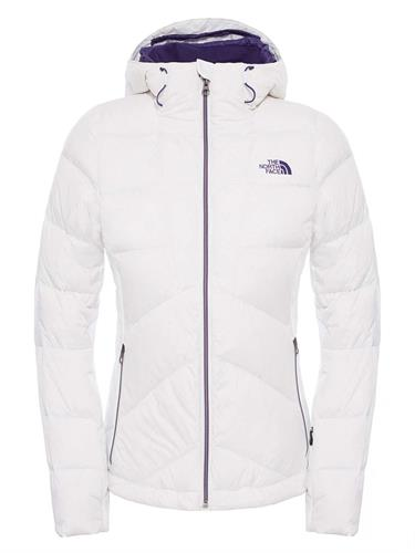 מעיל פוך נשים נורט פייס מדגם The North Face Women's  FLOCCUS DOWN JACKET tnf white