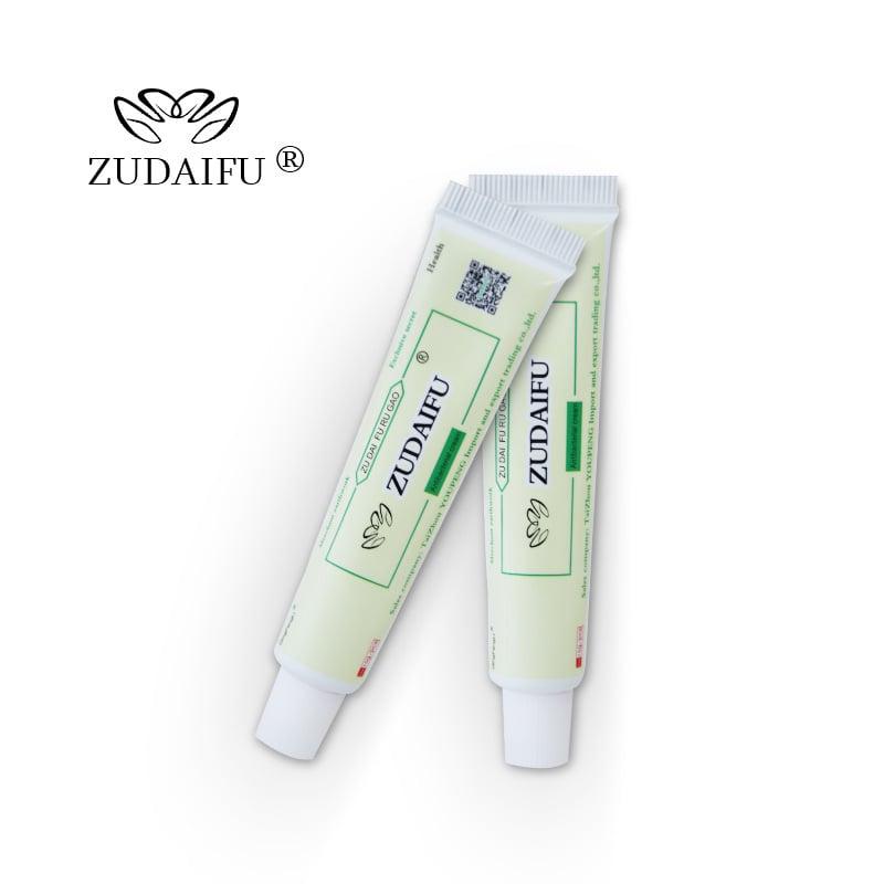 משחה טבעית לטיפול בפסוריאזיס, אסטמת עור, אקנה, סבוריאה, אקזמה,הרפס ופטרת העור - Zudaifu