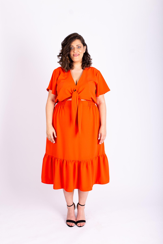 שמלת איה מנדרין