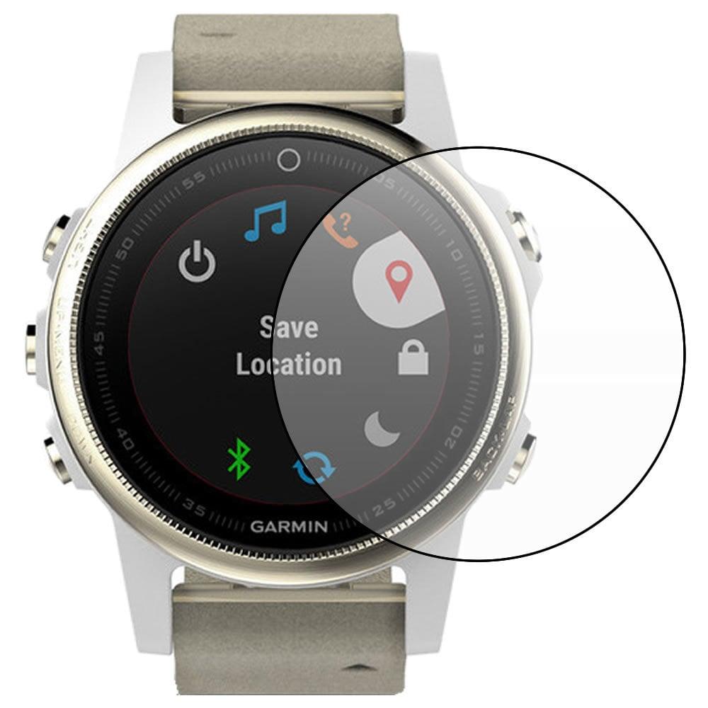 מגן זכוכית לשעון Garmin Fenix 5S  - סט 3 יחידות