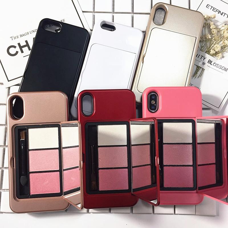 מגן לאייפון שלך עם מראה והמייקאפ שלך
