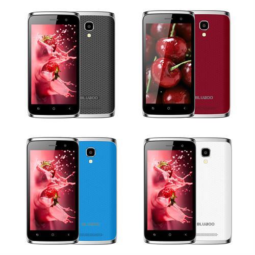"""מכשיר Bluboo מיני סמארטפון Android 6.0 מעבד 4 ליבות 1.3GHz זיכרון 1GB+8GB מצלמה 5.0MP+2.0MP מסך 4.5"""""""