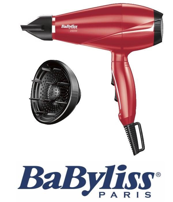 BaByliss מייבש שיער מקצועי +דיפויזר דגם BA-6604RPE