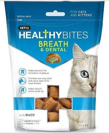 חטיף לחתולים דנטלי לבריאות הפה 65 גרם