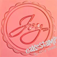 JOY EMBOSSED STAMP