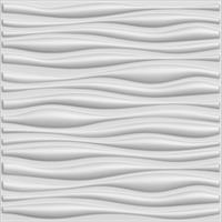 """חיפויי קיר תלת מימדי דגם Inreda בגודל 100*100 ס""""מ"""