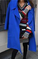 מעיל נאשוויל צמר כחול
