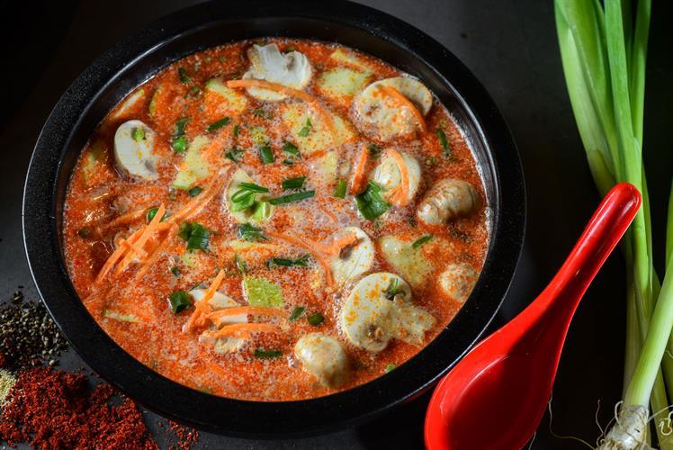 מרק קוקוס ירקות אישי