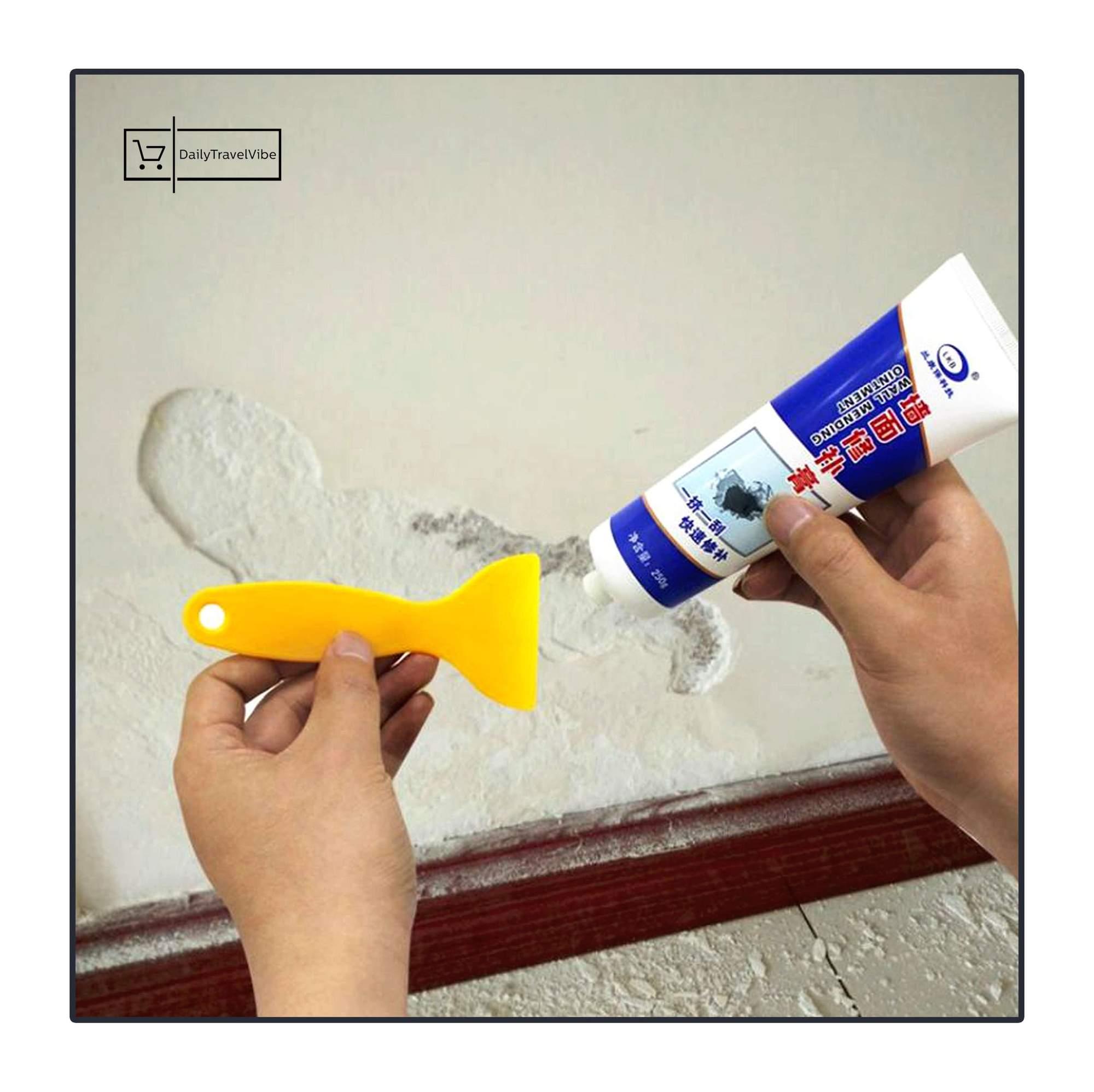 קרם קלסימו מהיר לתיקון  וצביעת קירות - 1/4 קילו