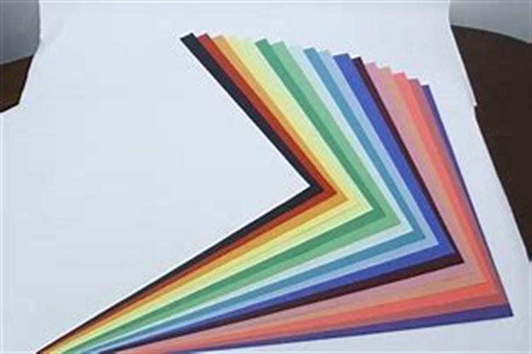 בריסטולים צבעוניים A4