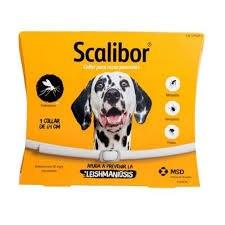 קולר קרציות סקאליבור לכלבים גדולים -SCALIBOR