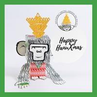 6 units Bundle - HanuXmas Monkey