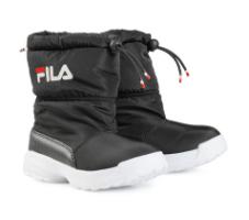 מגפי פוף שחורות FILA  - מידות 22-27