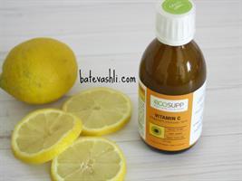 ויטמין סי C ליפוזומאלי נוזלי|אקוסאפ - לא נשלח בפיקאפ